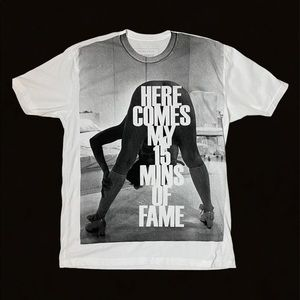 Prince Peter Here Comes My 15 Mins of Fame T-Shirt